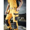 Pantalon de travail multi poches Dickies Pro Holster Trousers Jaune porté