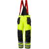 Pantalon imperméable haute visibilité à bretelles Helly Hansen ALNA SHELL CONSTRUCTION - Jaune