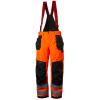 Pantalon imperméable haute visibilité à bretelles Helly Hansen ALNA SHELL CONSTRUCTION - Orange
