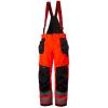 Pantalon imperméable haute visibilité à bretelles Helly Hansen ALNA SHELL CONSTRUCTION - Rouge