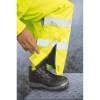 Pantalon ignifugé haute visibilité antistatique Portwest Bizflame Rain FR Jaune Détail