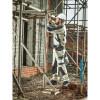 Pantalon de travail Dickies Grafter Duo Tone Premium Trousers Beige / Noir Porté