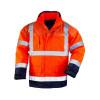 Parka de travail haute visibilité Coverguard BREATHANE AIRPORT 4 EN 1 - Orange / Marine