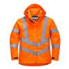 Parka femme haute visibilité respirante Portwest 300D - Orange
