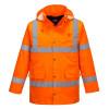 Parka haute visibilité matelassée Portwest traffic - Orange