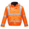 Parka imperméable haute visibilité respirante Portwest Orange 2