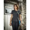 Polo de travail Femme Dickies SH21601 Noir Porté