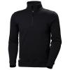Sweat shirt Helly Hansen MANCHESTER HALF ZIP - Noir