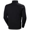 Sweat shirt Helly Hansen MANCHESTER ZIP Noir Dos