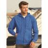 Sweat-shirt léger à capuche zippé Fruit Of The Loom Lightweight Hooded