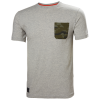T-shirt de travail Helly Hansen KENSINGTON - Gris Clair