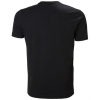 T-shirt de travail Helly Hansen KENSINGTON Noir Dos