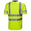 T-shirt haute visibilité Helly Hansen ADDVIS TEE jaune dos