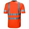 T-shirt haute visibilité Helly Hansen ADDVIS TEE orange dos