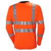 T-shirt haute visibilité manches longues Helly Hansen ADDVIS Orange Dos