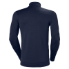 T-shirt manches longues Helly Hansen LIFA HALF ZIP navy dos