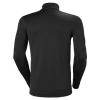 T-shirt manches longues Helly Hansen LIFA HALF ZIP noir dos