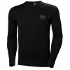 T-shirt manches longues Helly Hansen LIFA MERINO CREWNECK - Noir