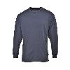 T-shirt de travail manches longues thermique Portwest baselayer - Anthracite