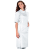 Blouse blanche dentiste femme Isacco Dentista 100% coton - Tunique dentiste femme Isacco blanche