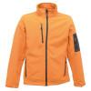 Veste à membrane 3 couches Softshell Regatta Professional ARCOLA - Orange / gris