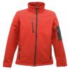 Veste à membrane 3 couches Softshell Regatta Professional ARCOLA - Rouge / gris