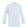 Veste de cuisine homme manches longues Robur ASPIN - Veste Cuisine Robur ASPIN blanc dos