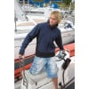 Veste d'activité Softshell Result navy mannequin