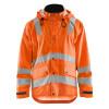 Veste de pluie haute visibilité Blaklader NIVEAU 3 Orange Fluo