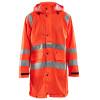 Manteau de pluie imperméable Blaklader haute visibilité - Orange