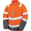 Veste haute visibilité Result toucher doux - Orange / Gris