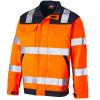 Veste de travail haute visibilité bicolore Dickies EVERYDAY - Orange / Marine