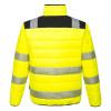 Veste de travail haute visibilité Portwest BAFFLE - Veste de travail haute visibilité Portwest PW3 jaune/noir dos
