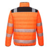 Veste de travail haute visibilité Portwest BAFFLE - Veste de travail haute visibilité Portwest PW3 orange/noir dos