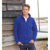 Veste de travail polaire légère Micron Result - Bleu royal - Porté