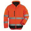 Blouson haute visibilité 2 en 1 manches amovibles Coverguard Hi-Way XTRA - Orange