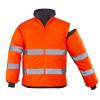 Veste haute visibilité 2 en 1 manches amovibles Coverguard ROADWAY - Veste haute visibilité 2en1 manches amovibles Coverguard Roadway Orange Détail 2