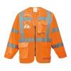 Veste Haute Visibilité Portwest Executive HiVis - Orange Fluo