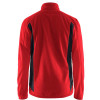 Veste hiver polaire Blaklader Bicolore rouge / noir dos