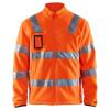 Veste polaire Haute Visibilité Homme Blaklader Classe 3 - Orange