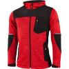 Veste polaire softshell à capuche Albatros DARBY - Rouge