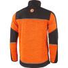 Veste polaire tricoté softshell Albatros COWPER - Veste polaire softshell Albatros COWPER orange-noir dos