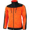 Veste polaire tricoté softshell Albatros COWPER - Orange / Noir