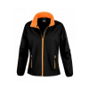 Veste Softshell femme Result - Noir / Orange