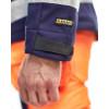 Veste softshell haute visibilité Blaklader bicolore Orange / Marine Détail 2
