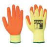 Gants tricoté Portwest enduit Latex Fortis A150 - Jaune / Orange