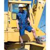 Short de travail Lite Work-Guard RESULT - Bleu - Porté