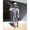 Short de travail Lite Work-Guard RESULT - Gris - Porté