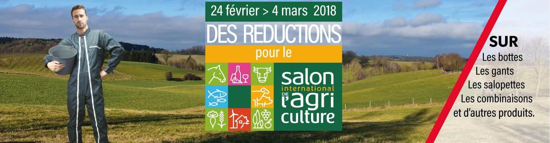 Réductions pour le Salon de l'Agriculture 2018