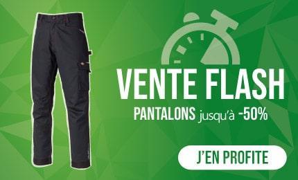 Consultez nos ventes de pantalons de travail